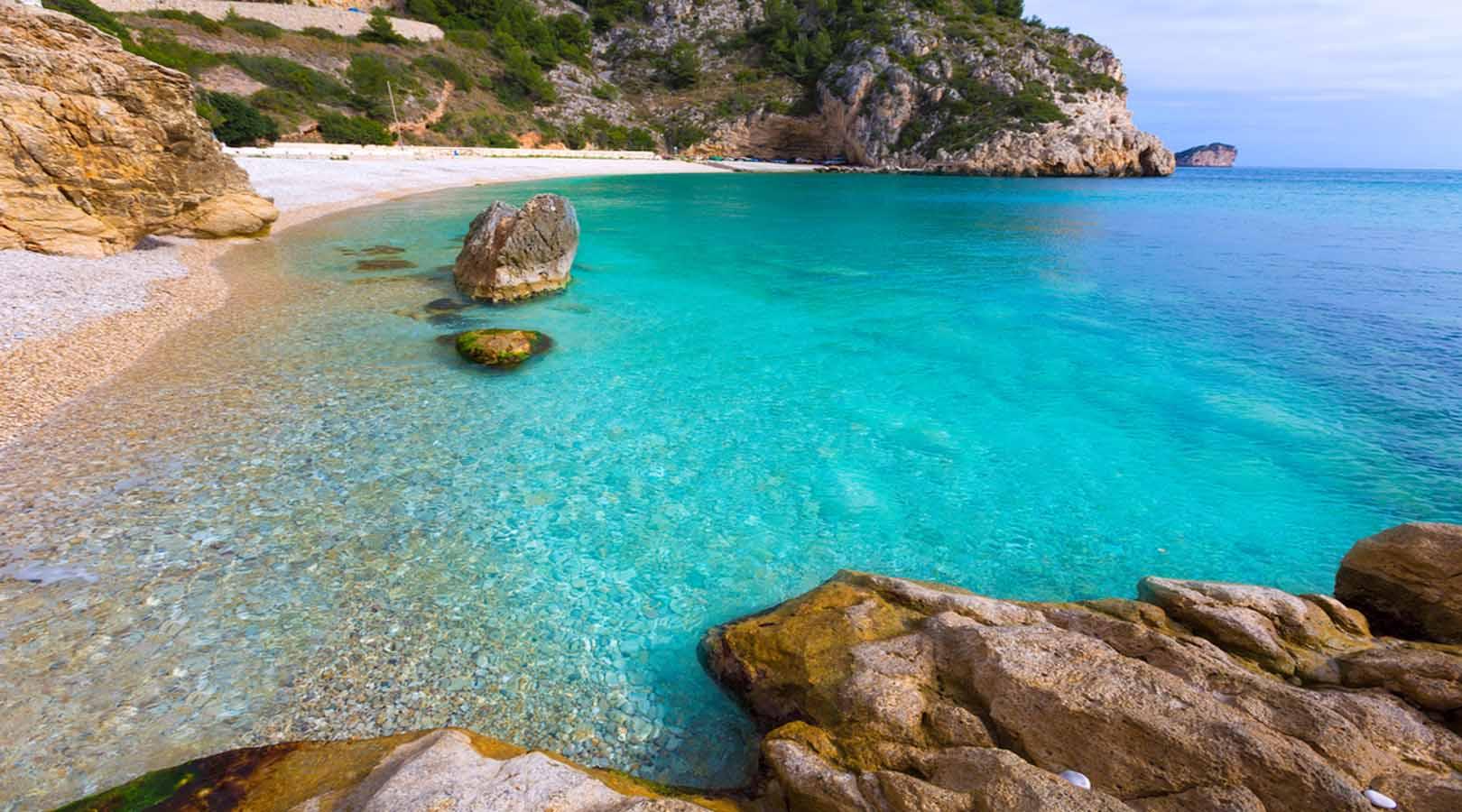 Javea coves and beaches