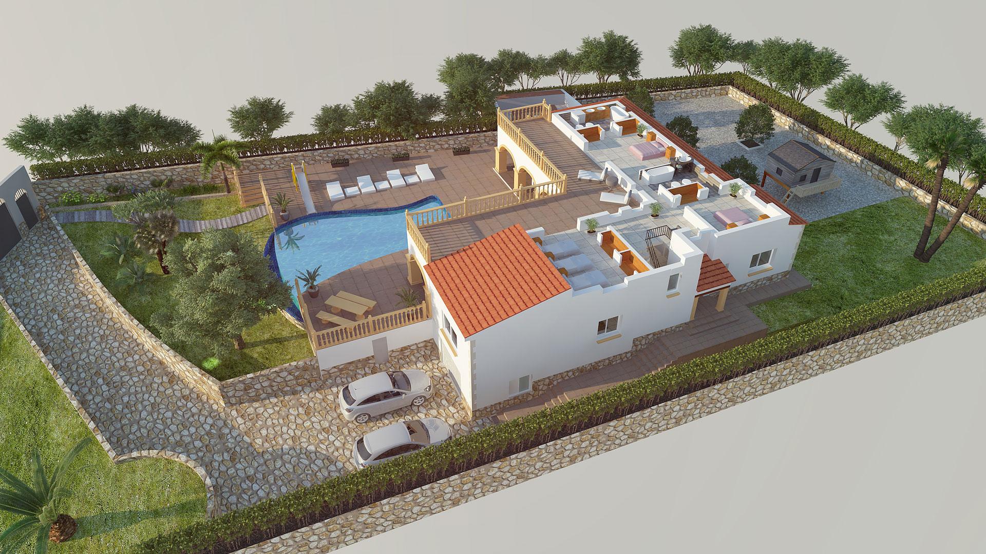 Villa Plans - La Lluca Javea