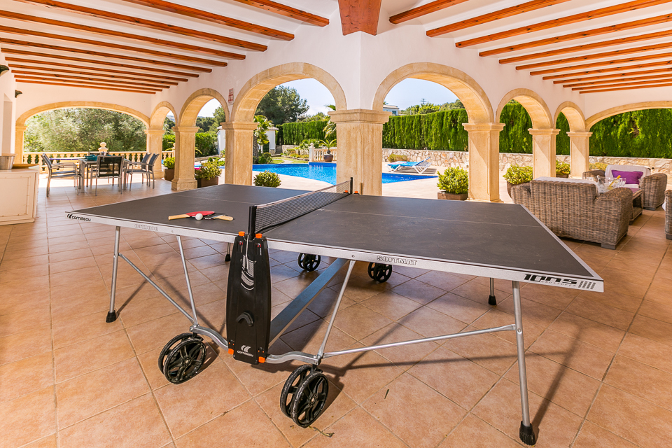 Table Tennis-javea holiday rentals